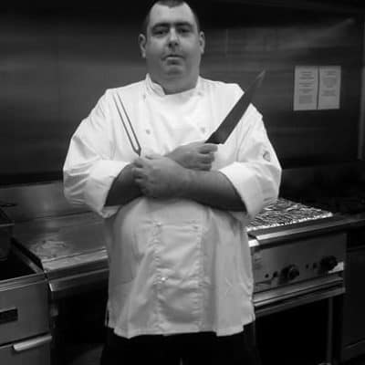 Chef ready to carve