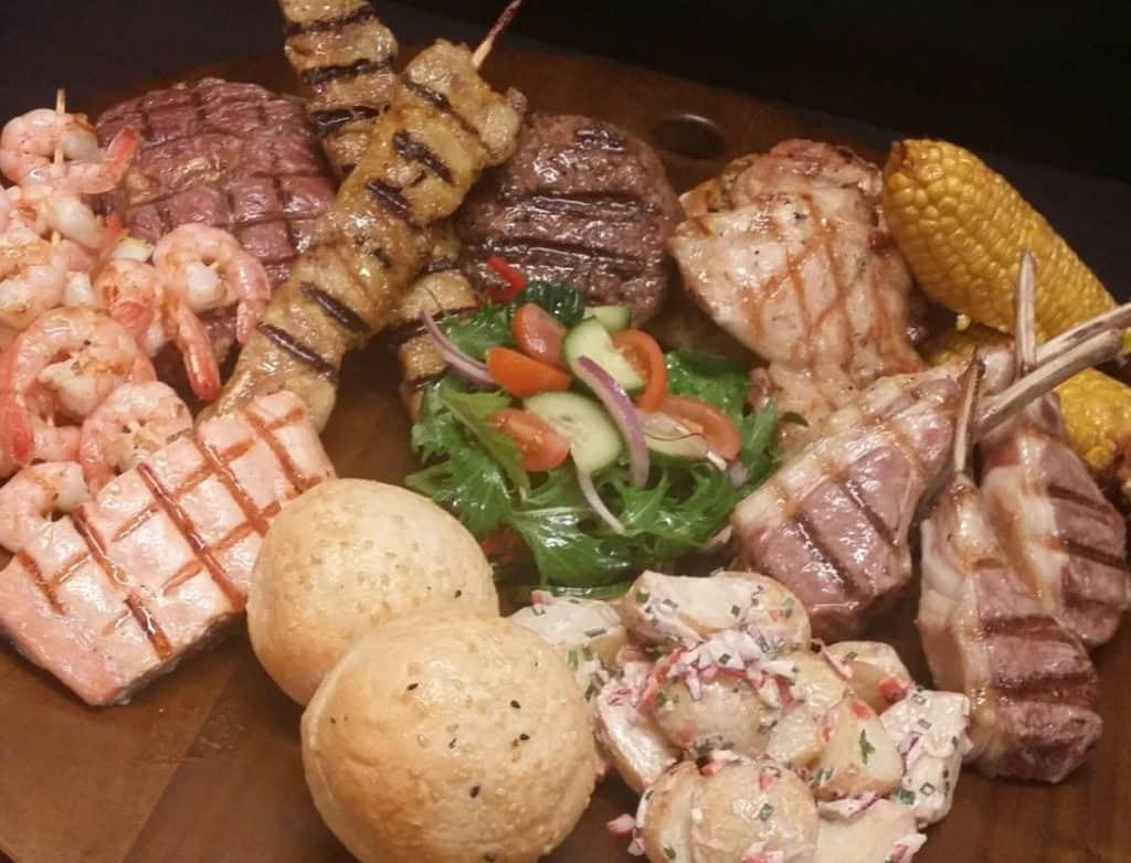 Gourmet Seafood BBQ Platter