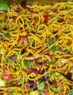 Buffet Asian Noodle Salad
