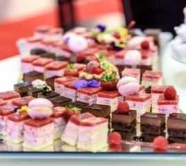 Assorted Cakes & Petet Fours