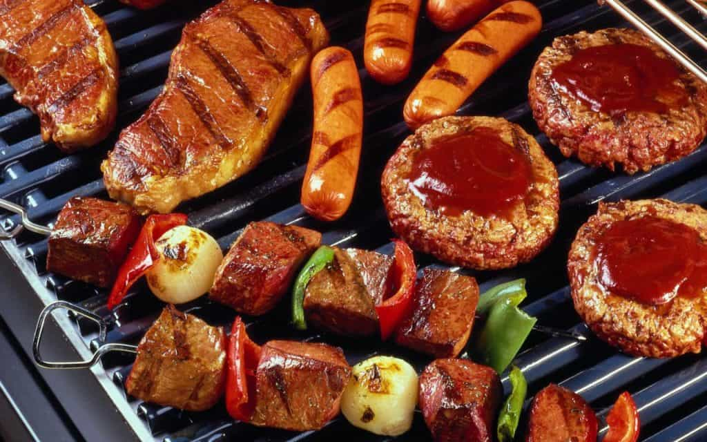 bbq catering mixed meat grill