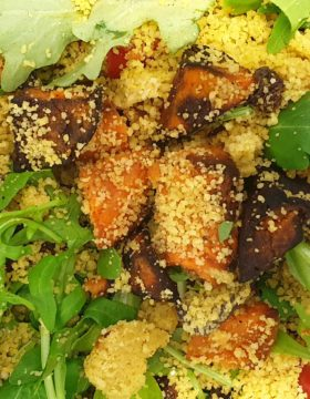 sweet potato cous cous